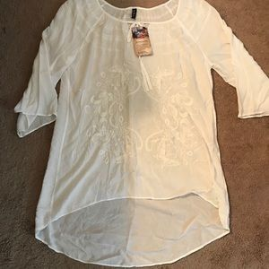 0003 CL/GY 01 Sacred Threads Sm. Blouse